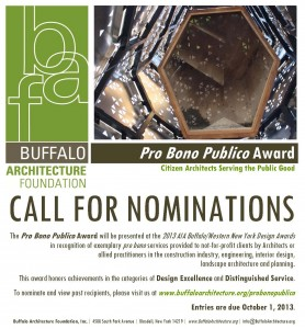 Call for Nominations: Pro Bono Publico Award