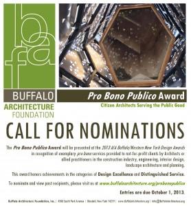 Call for Nominations: Pro Bono Publico Award