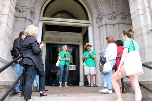 Families Learn About Preservation at BAF's Youth + Family Tour