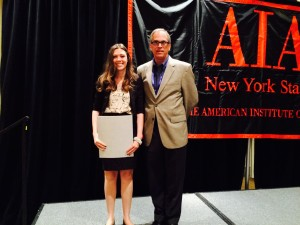 BAF Vice President Linsey Graff Receives the AIA NYS Associate Award