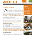 Architecture + Education Newsletter