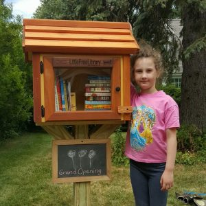 Monroe Dr Little Free Library